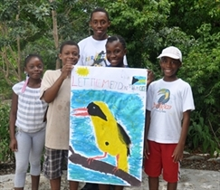 Camp Safari 2015: Winging It With Our Bahama Birds!