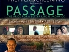"Kareem Mortimer's screening of the short film ""Passage"""